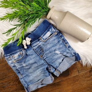 Old Navy Stretch Distressed Levi Shorts | sz 18-24